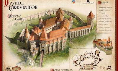 harta castelul corvinilor