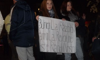 protest colectiv deva