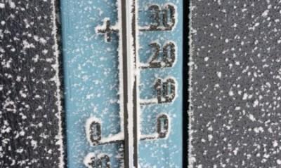 ger-frig-iarna-termometru