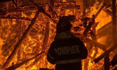 incendiu petrosani