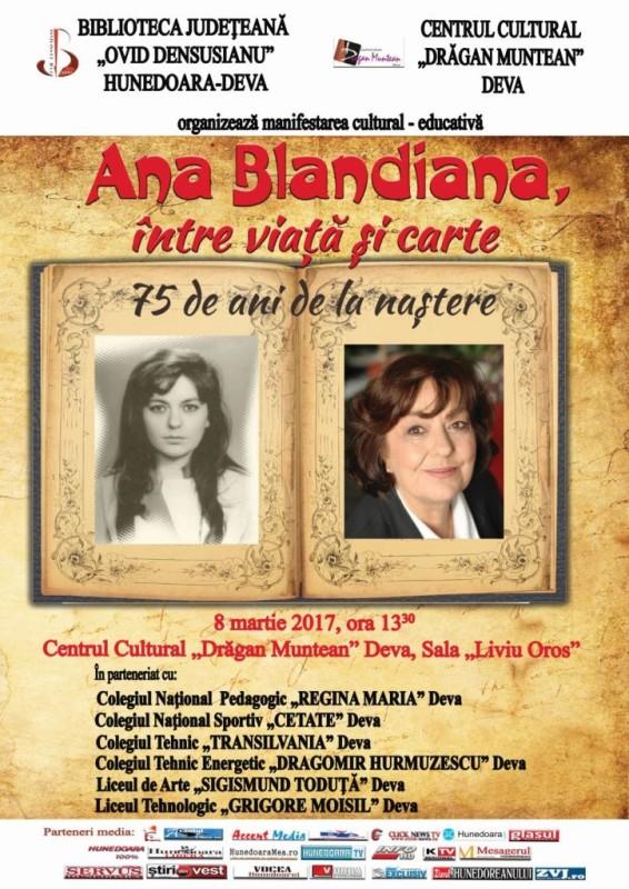 Afis Ana Blandiana