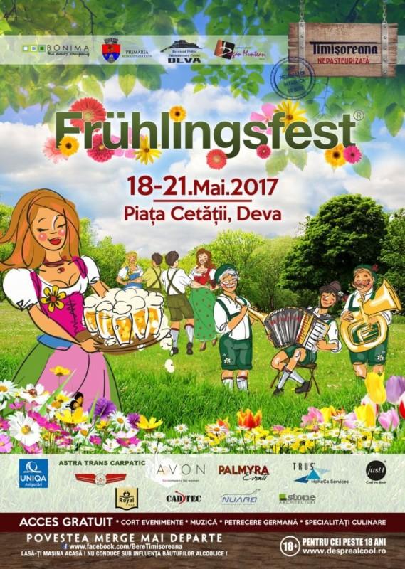 Afis Fruhlingsfest