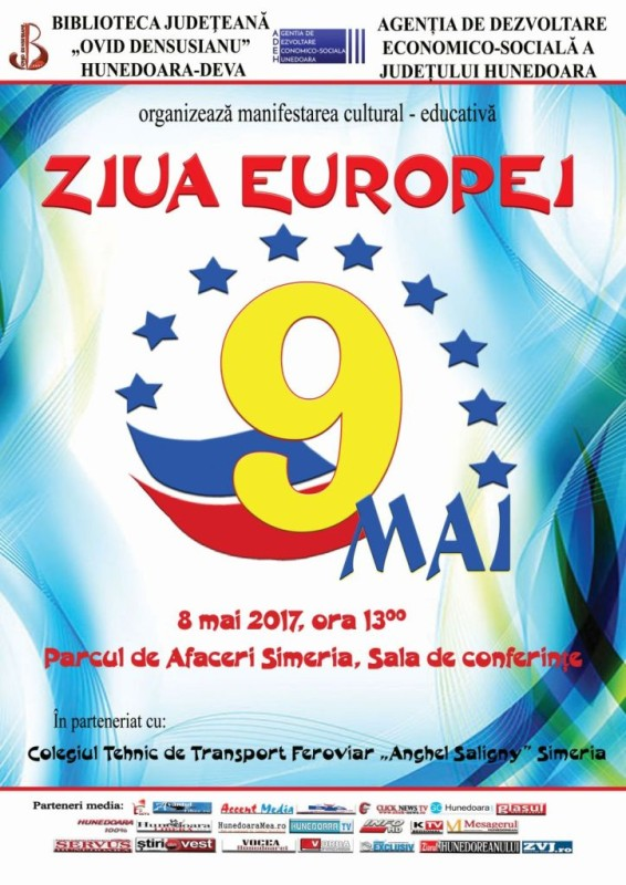 Afis Ziua Europei 2017