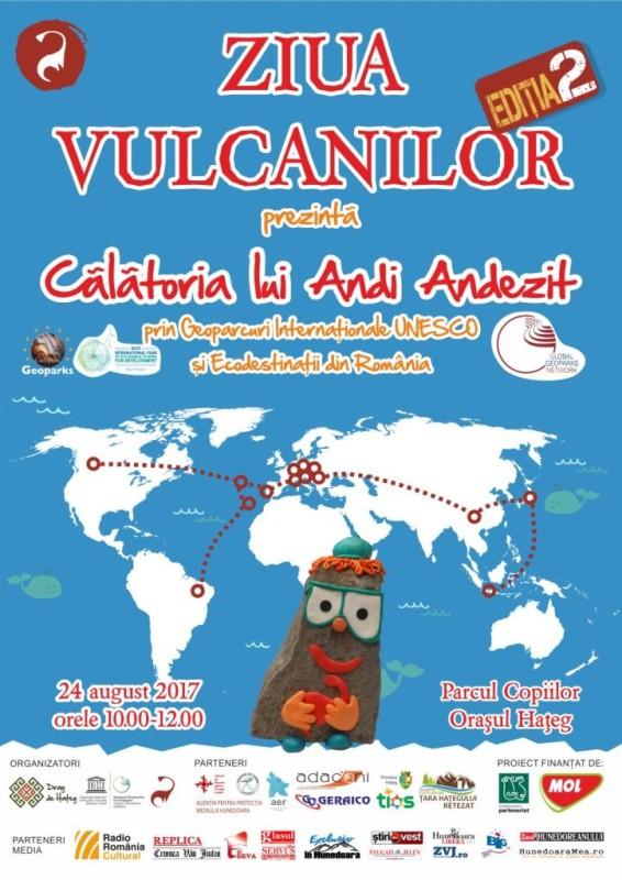 afis ziua vulcanilor II