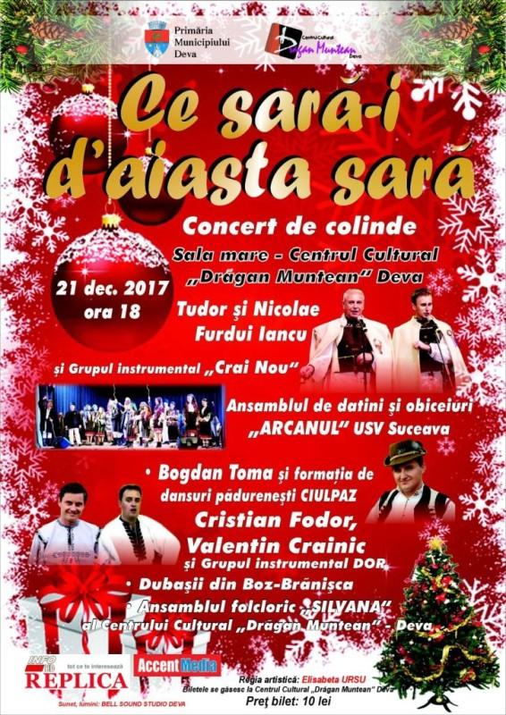 Afis Concert Colinde