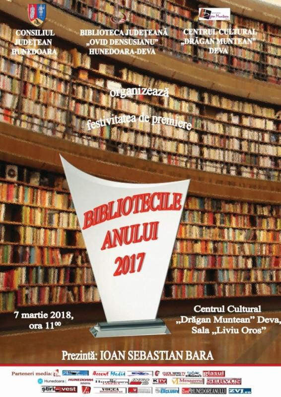 Afis BIBLIOTECILE ANULUI 2017