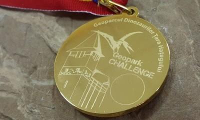 Medalie semimaraton geoparc