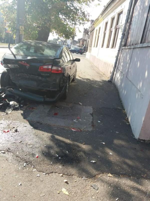 accident Eminescu 2