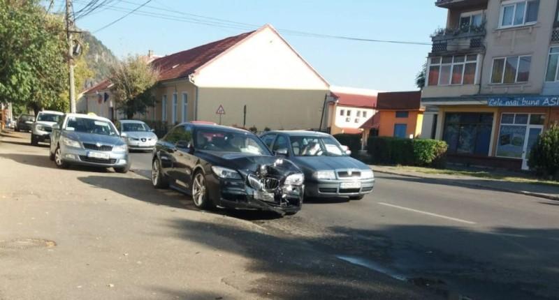 accident strada Eminescu