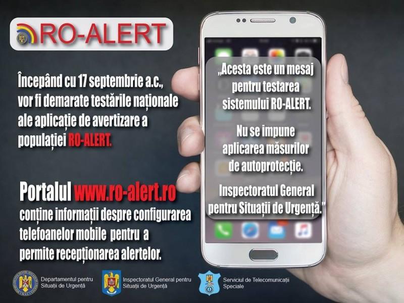 mesaj ro alert