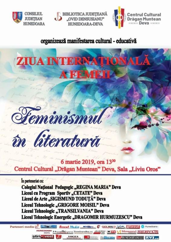 Afis Feminismul in literatura